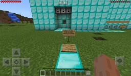 Minecraft security base made from dmds Minecraft Project