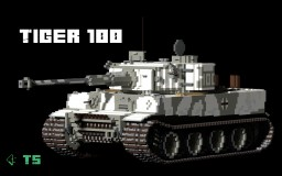 Tiger 100 Minecraft Map & Project