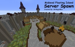 Midieval Floating Island Server Spawn (with Download!) Minecraft Project