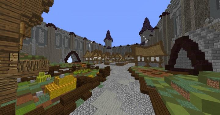 Lower Level - Village Square