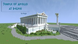 Temple of Apollo at Delphi Minecraft Project