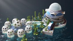 Botanic Park Minecraft Map & Project