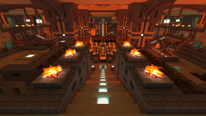 Main Underground Hub. All underground structures are reachable from here.