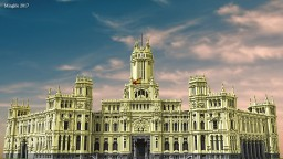 Madrid City Hall Minecraft Project