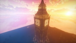 Big Ben with mechanisms Minecraft
