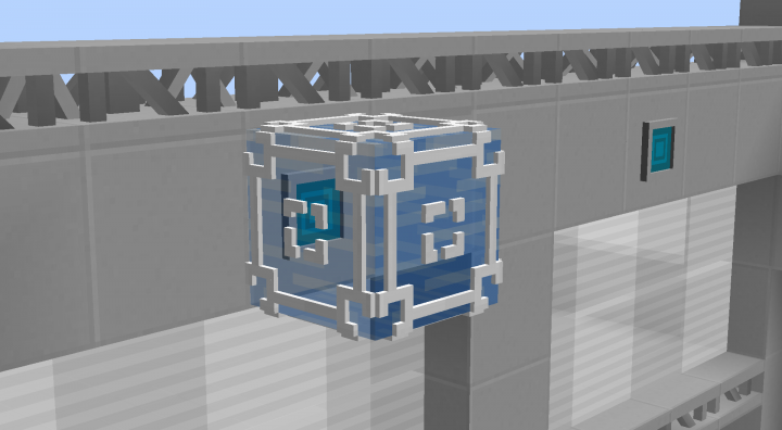 Dying a cube will grant the cube all attributes that the corresponding color block has