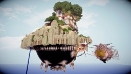 "【Ghibli】Castle in the Sky【Laputa:The Flying Island】"" project Minecraft"