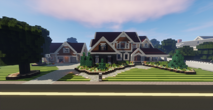 Suburban House 1 10 Minecraft Project