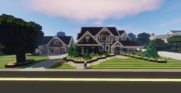 Suburban House 1.10 Minecraft Map & Project