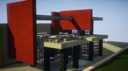 Contemporary Cafe Minecraft Map & Project