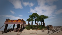 "Oasis ""the hopeful tear of Kirscha"" Minecraft Map & Project"