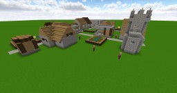 Juste un village PNJ Minecraft Map & Project
