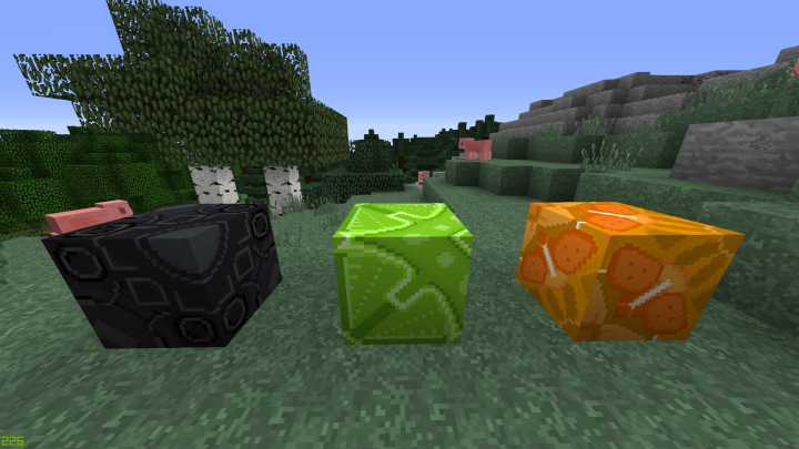 Some of the new and improved glazed terracotta blocks!