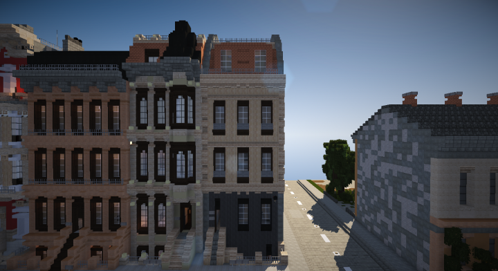 Large Traditional Townhouse Minecraft Project