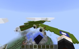 B17 flying fortress Minecraft Map & Project
