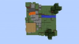 36x36 cube island survival Minecraft Project