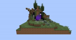 Nether Portal in a mountain Minecraft Project