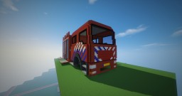 Giant Dutch Firetruck Minecraft Map & Project