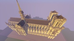 Notre Dame 103x261 (First build) Minecraft Project