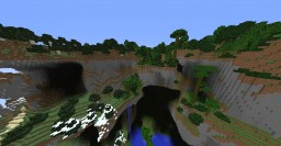 """""""Giantica"""" The Giant Terraforming Minecraft Map & Project"""