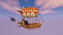 Fantasy/Steampunk Airship! Minecraft Project