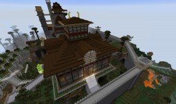 "RP-Stand-Alone ""Ran'no'tera"" / Age of Empires II Japanese Wonder ""Tódai-ji"" Minecraft Project"