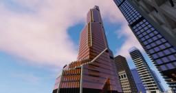 Mercury City Tower Russia Minecraft Project