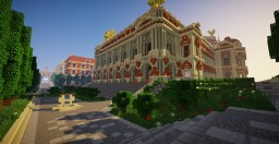 Opera Garnier of Paris Minecraft Project