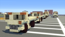FMTV Military Utility Truck M1083 M1087 Minecraft Map & Project