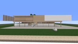 Modern Merscale House |Kaoshkraft| Minecraft Project