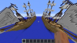 Sea Battle Nine Cloud Minecraft Project