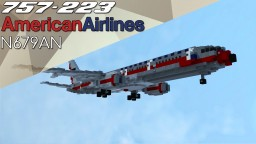 American Airlines 'AstroJet' Boeing 757-223 | N679AN Minecraft Map & Project