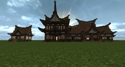 Asian Village Minecraft Project