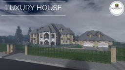 LUXURY HOUSE - Buildopolys Minecraft Map & Project