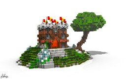 Small Castle Minecraft Project
