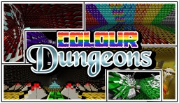 COLOUR DUNGEONS! [By Sythtron] Minecraft Map & Project