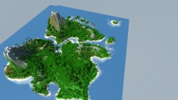 Tropic Volcano-Island (Survival Map) Minecraft Map & Project