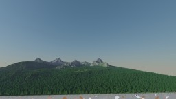 Summer 1.6K Mountain Map Minecraft Map & Project