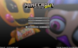 FNAF 2 Map and Resourse Pack Minecraft Project