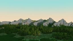 Mountain Valley 3x3k World Minecraft Project