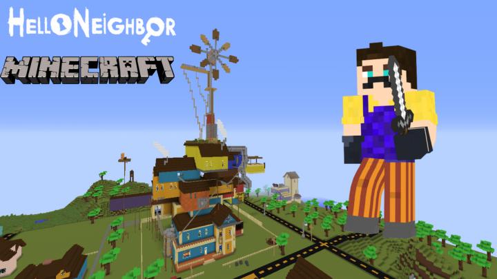 Minecraft Hello Neighbor Beta Minecraft Project - Minecraft alpha spielen
