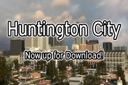 Huntington City Project | Realistic City | OFFICIAL RELEASE Minecraft Map & Project