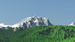 mountains. Minecraft