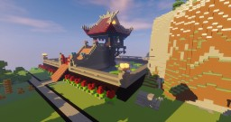 One Pillar Pagoda Vietnam Temple Minecraft Project