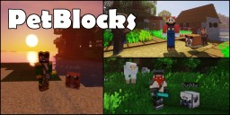PetBlocks [MySQL|BungeeCord|Customizeable GUI|1.8/1.9/1.10/1.11/1.12] Minecraft Mod