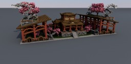 Asian Themed Palace Minecraft Project
