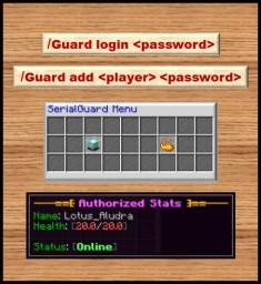 [Plugin] SerialGuard [1.7.x - 1.12.x] Minecraft Mod