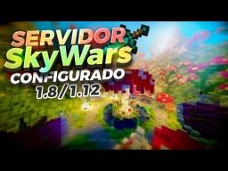 Servidor Configurado MultiSkyWars (EQUIPO/SOLO)   1.8/1.9/1.10/1.11/1.12   Descarga Gratis Minecraft Project