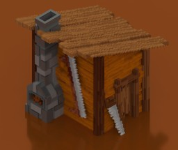 Woodcutter house ! Minecraft Project
