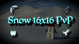 Snow PvP 16x16 Pack Minecraft Texture Pack